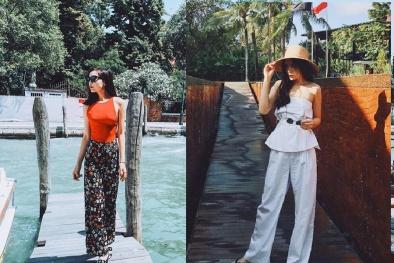Hoa hậu Kỳ Duyên tiết lộ cách chọn quần áo đơn giản nhưng set đồ cực chất