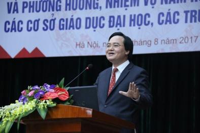 Bộ trưởng Bộ Giáo dục nói gì về điểm ưu tiên trong kỳ tuyển sinh 2017