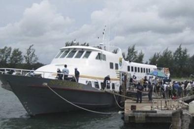 Kinh doanh siêu lợi nhuận, một hãng tàu ở Phú Quốc bị truy thuế gần 60 tỷ đồng