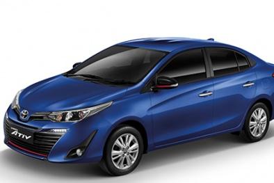 Mẫu sedan giá rẻ Toyota Yaris Ativ ra mắt ở Thái Lan giá bán từ 14.000 USD