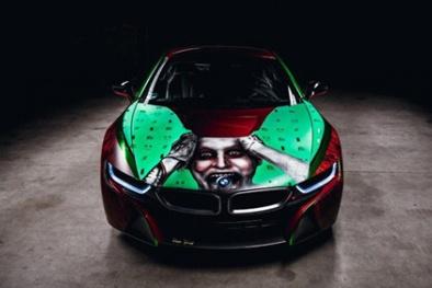 BMW i8 'cực chất' khi mang phong cách của kẻ nổi loạn Joker