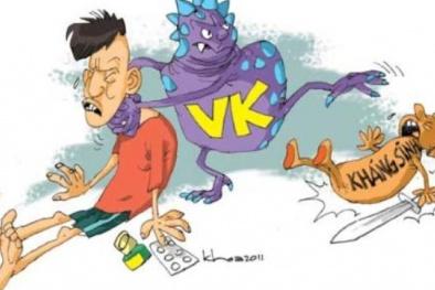 Vi khuẩn kháng thuốc 'tấn công' hầu hết các sơ sở khám, chữa bệnh tại Việt Nam