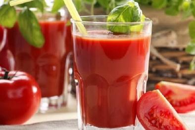 Cách làm sinh tố cà chua cực đơn giản giúp đẹp da