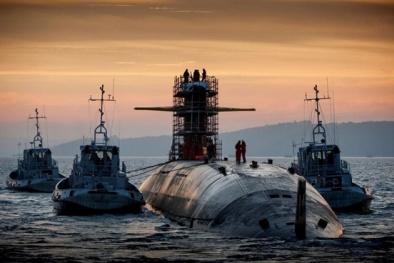 Uy lực tàu ngầm sở hữu tên lửa 'nắm đấm hạt nhân' đáng sợ nhất thế giới