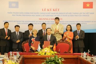 Thành lập 2 Trung tâm khoa học dạng 2 về Toán học và Vật lý tại Việt Nam