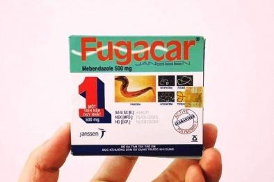 Thuốc tẩy giun Fugacar giả tái xuất tại TP. Hồ Chí Minh