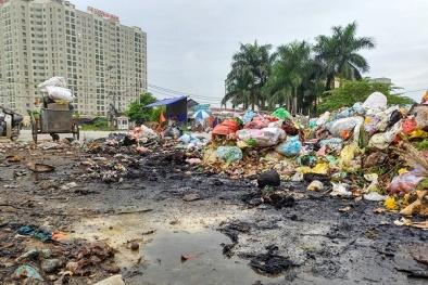 Rác ngập KĐT Nam An Khánh:UBND Hoài Đức yêu cầu dừng tiếp nhận rác sau phản ánh của VietQ