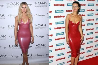 Váy nhựa bó sát - thời trang ưa dùng của sao Hollywood cực nguy hại