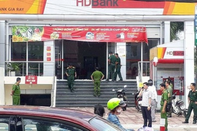 Thông tin chính thức về vụ cướp ngân hàng ở Đồng Nai