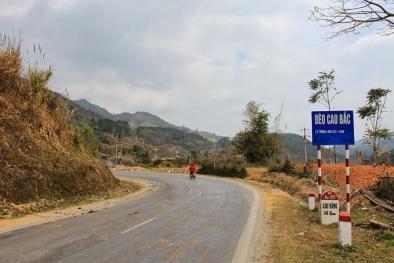Cảnh báo giao thông: Đèo Cao Bắc huyền ảo không dành cho tài xế non tay