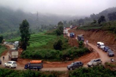 Cảnh báo giao thông: Cẩn trọng với 'cửa tử' nơi đèo Giang Ma