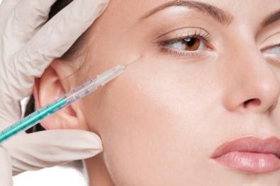 Tiêm botox bằng chất Botulinum A để xóa nếp nhăn có thể bị suy tim, tử vong