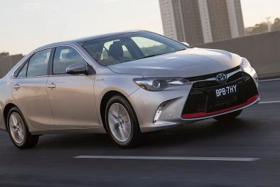 54 chiếc Camry vừa được Toyota ra mắt có gì đặc biệt?