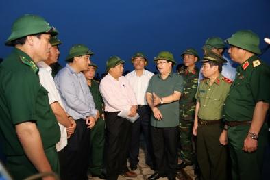 Phó Thủ tướng chỉ đạo ứng phó bão số 10 ở Quảng Bình, Hà Tĩnh, Nghệ An