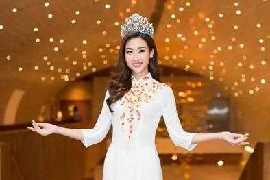 Đỗ Mỹ Linh 'chễm chệ' vị trí số 1 phần bình chọn online Miss World: Lợi hay thách thức?