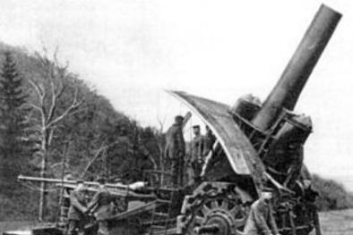 Vũ khí 'sát thủ pháo đài' có tính sát thương khủng khiếp nhất thế chiến thứ 1