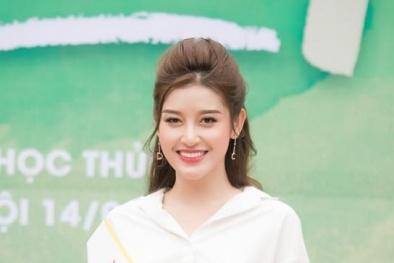 Cận kề Miss Grand 2017, Huyền My khoe thành tích luyện tập và khả năng nói tiếng Anh điêu luyện
