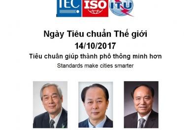 Ngày Tiêu chuẩn Thế giới 14/10/2017: Tiêu chuẩn giúp thành phố thông minh hơn