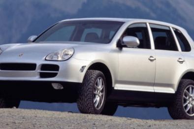 Hàng loạt xe Porsche Cayenne bị thu hồi tại Mỹ vì lỗi rò rỉ nhiên liệu