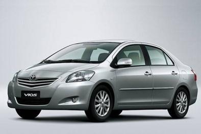Toyota Việt Nam triệu hồi hàng chục nghìn xe Vios và Yaris