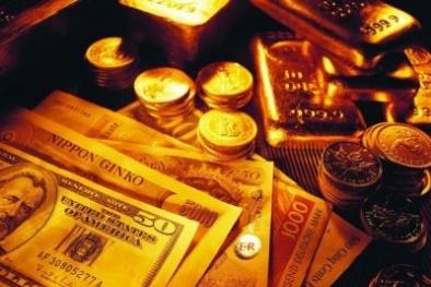 Giá vàng hôm nay ngày 3/10: Tiếp tục 'lao dốc', xuống mức thấp nhất 7 tuần qua
