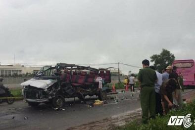 Tin mới nhất vụ tai nạn 6 người chết ở Tây Ninh: Xe khách chưa được cấp phép