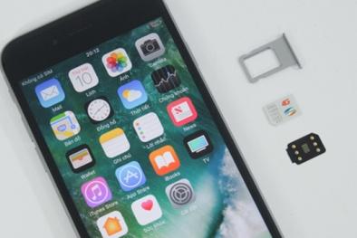Cách chữa iPhone lock bị vô hiệu hoá vì lỗi SIM ghép 4G