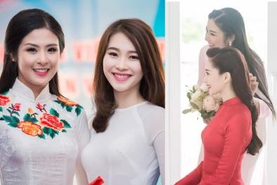 Ngưỡng mộ tình bạn của Hoa hậu Ngọc Hân và Đặng Thu Thảo giữa showbiz ồn ào, thị phi