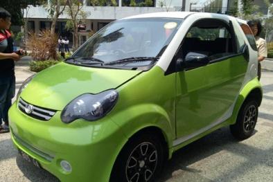 Xe ô tô điện nhỏ xinh, người chạy thử 'khen hết lời',  giá chỉ 136 triệu có gì hay?