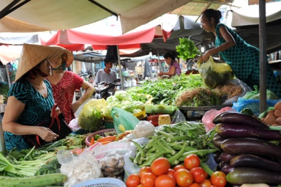 Giá cả thị trường hôm nay (9/10): Giá lợn hơi ổn định trở lại, thực phẩm tại TP.HCM tăng nhẹ