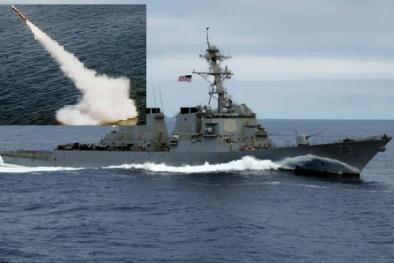 Khủng khiếp vũ khí chứa gần 100 tên lửa 'khét tiếng' nhất thế giới của Mỹ