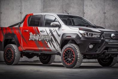 Ngắm xe bán tải Toyota Hilux độ 'cực ngầu' với bản độ Carlex Hilly
