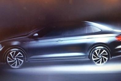'Soi' sedan hạng B Volkswagen Virtus, đối thủ của Toyota Vios sắp ra mắt