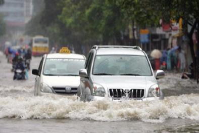 Ô tô có dấu hiệu bị thủy kích do mưa lũ, tài xế phải cảnh giác điều này