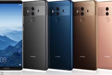 'Đấu' với iPhone 8 và Galaxy S8: Huawei ra mắt 2 điện thoại 'siêu đỉnh' mới