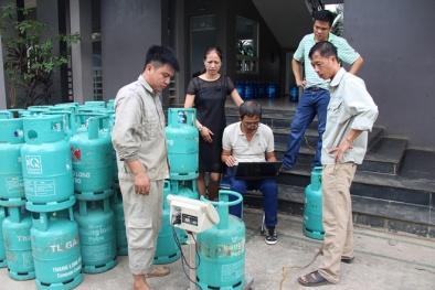 Thanh tra các cơ sở chiết nạp gas LPG trên địa bàn Thành phố Hà Nội