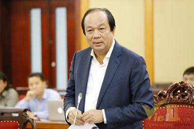 Sáng nay Tổ Công tác của Thủ tướng Chính phủ làm việc với Bộ KH&CN