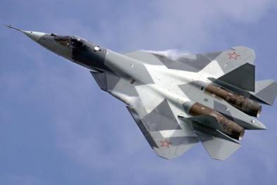 Nga 'hóa kiếp' cho tiêm kích Su-57 thành 'kẻ hủy diệt' đáng sợ chấp mọi đối thủ
