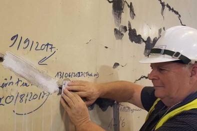 Nứt chằng chịt hầm Hải Vân: Lớp sơn lão hóa, quá tiêu chuẩn thời hạn sử dụng