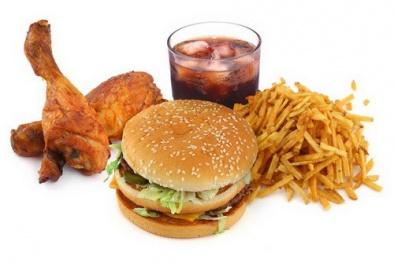 Não bị tắc nghẽn nếu sử dụng đồ ăn nhanh thường xuyên