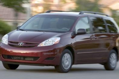 Đây là lý do hãng xe Toyota triệu hồi hơn 310.000 xe Sienna