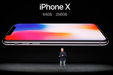 Bất chấp giá cao chót vót, iPhone X bán 'chạy như tôm tươi'