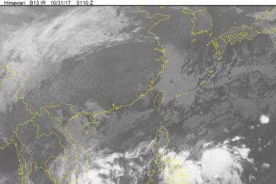 Tin mới nhất về áp thấp nhiệt đới trên biển Đông, vùng áp thấp gần biển Đông