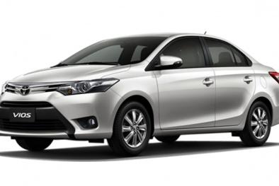Toyota giảm giá 'sập sàn' cho nhiều mẫu xe, Vios chỉ còn hơn 400 triệu đồng/chiếc