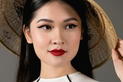 Cận cảnh vẻ đẹp 'hút hồn'của Thùy Dung tại Miss International 2017