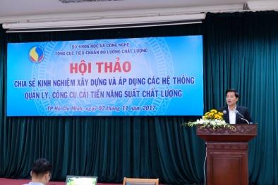 Chia sẻ kinh nghiệm nâng cao năng suất chất lượng tại các DN Việt Nam