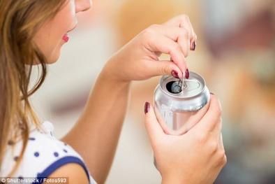 Hai lon soda mỗi tuần có thể tăng nguy cơ mắc tiểu đường, huyết áp cao, bệnh tim và đột quỵ