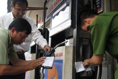 Cần Thơ: Tạm giữ 9.000 lít xăng không rõ nguồn gốc, thu hơn 160 triệu đồng tiền phạt