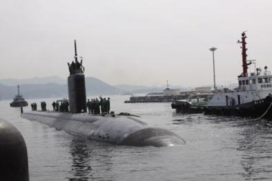 Khủng khiếp tàu ngầm tàng hình số 1 của Mỹ sở hữu 24 tên lửa 'chết chóc'