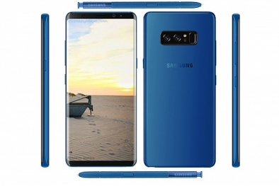 Samsung chính thức bán Galaxy Note 8 màu xanh nước biển sâu tuyệt đẹp
